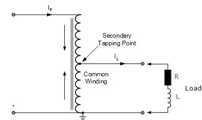 Auto-transformer principle